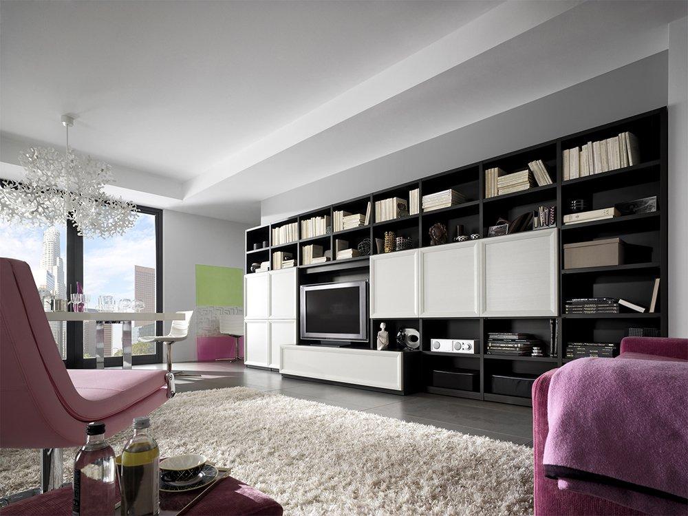 Stunning Pareti Attrezzate Moderne Calligaris Contemporary ...